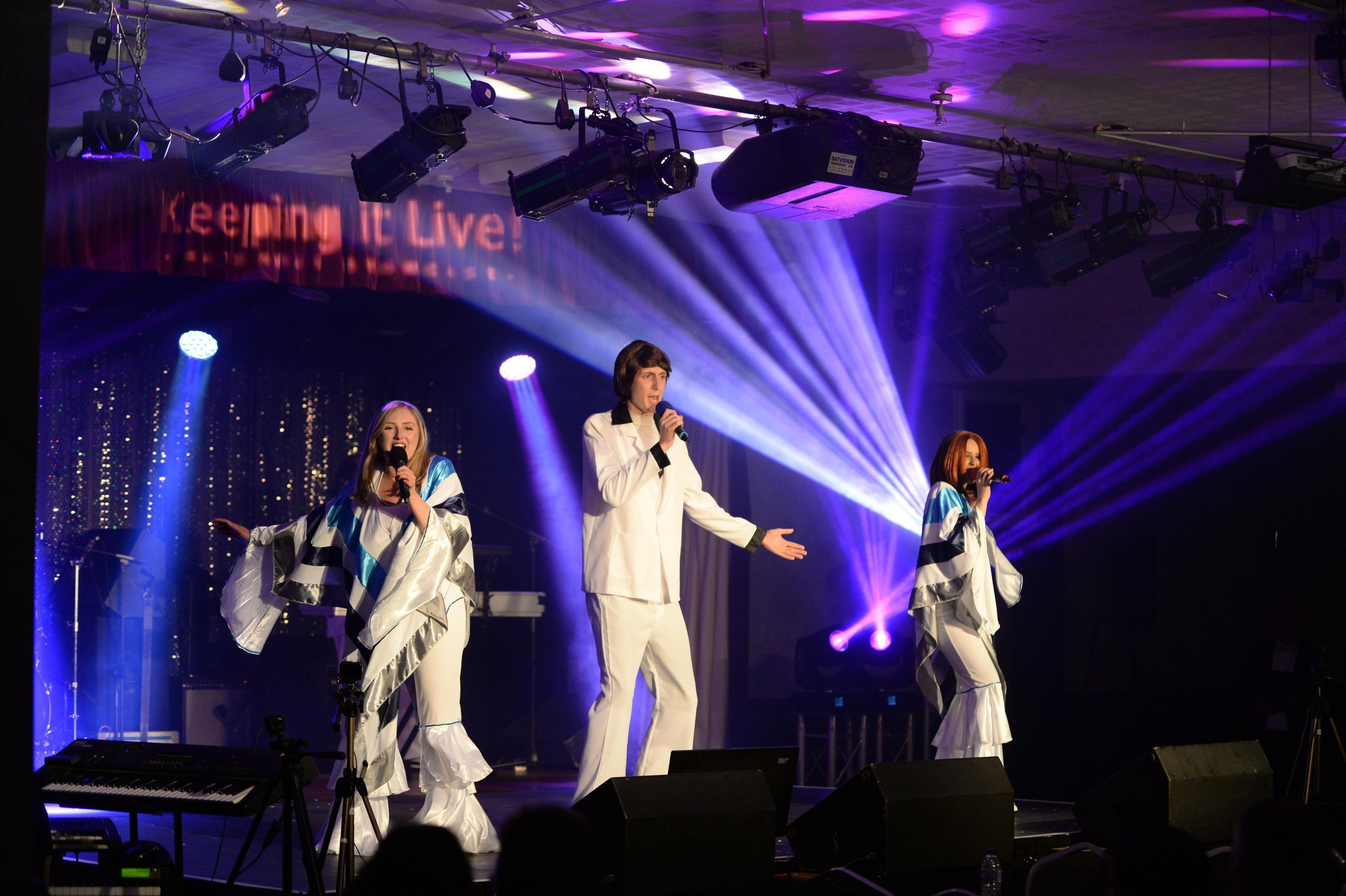 ABBA tribute band Midlands