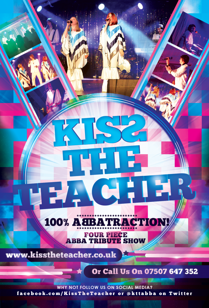 Kiss the Teacher ABBA tribute band